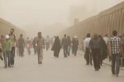 خداحافظی غبارآلود اصفهان با بهار