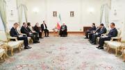 روحانی خطاب به سفیر فرانسه: فرصت اروپا برای جبران بسیار کوتاه است