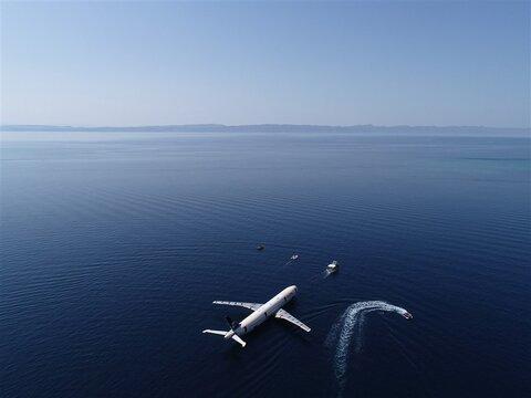 پرواز بر فراز اقیانوس