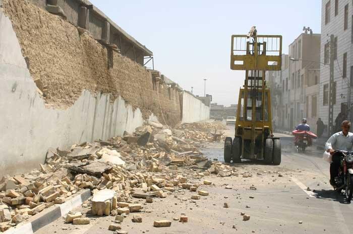تخریب کارخانه بزرگ تولید مواد شیمیایی