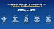 اعلام سیدبندی مرحله دوم فوتبال انتخابی جام جهانی ۲۰۲۲