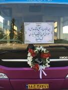 رونمایی از اتوبوسهای دوکابینی که با پول طرح ترافیک خریداری شد