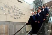 افتتاح ترمینال گالری سلام در فروگاه امام خمینی