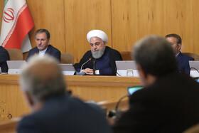 روحانی: توقف برخی اقدامات در چارچوب برجام حداقل اقدام تهران است