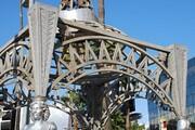 مجسمه ستاره سینما از بلوار هالیوود به سرقت رفت