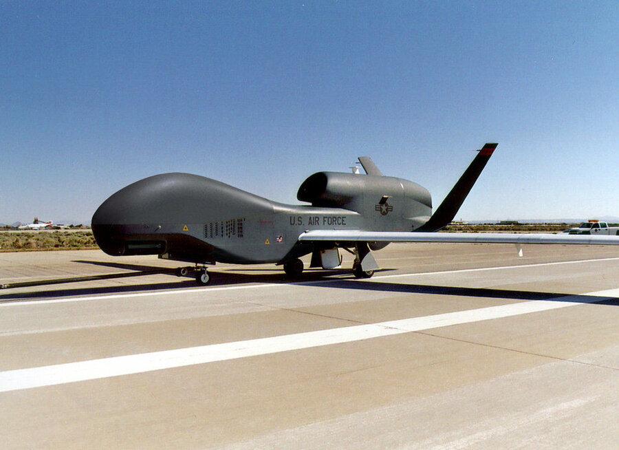 مشخصات و تصاویر پهپاد جاسوسی آمریکا که سپاه سرنگون کرد