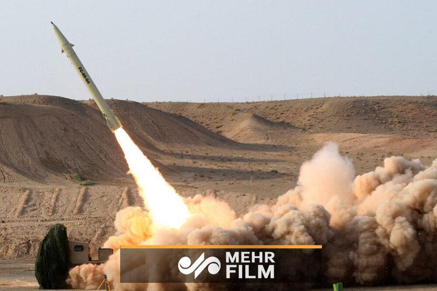 فیلمی از لحظه انهدام پهپاد امریکایی توسط سامانه سوم خرداد