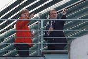 حمایت مجدد ماکرون از کاندیداتوری مرکل برای ریاست کمیسیون اروپا