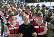 حکم ۱۴۱ بار حبس ابد برای ۱۷ نظامی ارشد پیشین ترکیه