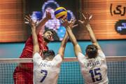 پیروزی دشوار والیبال    ایران ۳ - پرتغال ۱