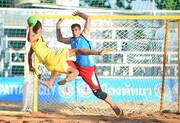 هندبال ساحلی قهرمانی آسیا؛ صعود ایران به نیمه نهایی
