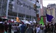 بازداشت بیش از ۷۰ فعال محیط زیست در نیویورک