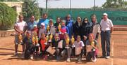 دختران برتر مسابقات تنیس ردههای سنی تهران مشخص شدند