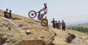 اولین مسابقه موتور تریال در پارک ملـی باغستان کرج برگزار شد