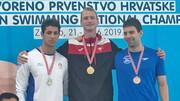 مسابقات جهانی شنا و کسب ورودی المپیک؛ انصاری مدال نقره ۱۰۰ پروانه را گرفت
