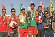 یاسان دیار گلستان قهرمان نخستین تور ملی والیبال ساحلی سه ستاره کشور شد