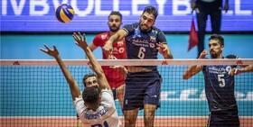 ایران ۰ – فرانسه ۳؛ شکست بیتاثیر والیبالیستها در خانه