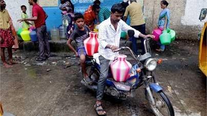 بحران آب هند