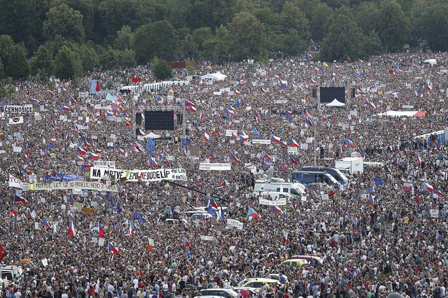 تظاهرات پراگ