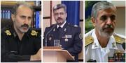 سه فرمانده ارتشی به درجه سرتیپی نائل آمدند