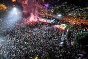 عکس روز: جشن پیروزی در استانبول