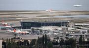 برخورد هواپیمای کویتی با ساختمان فرودگاه نیس فرانسه