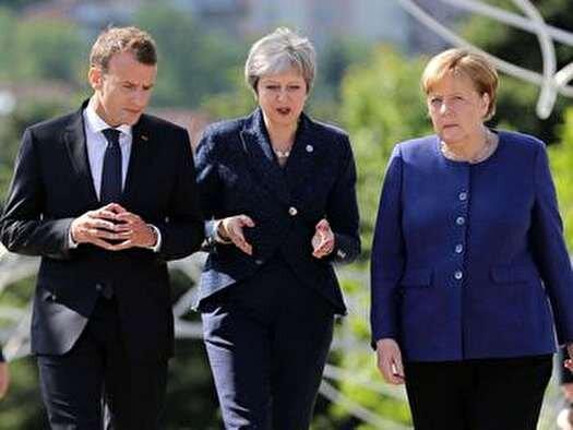 رهبران آلمان، انگليس و فرانسه