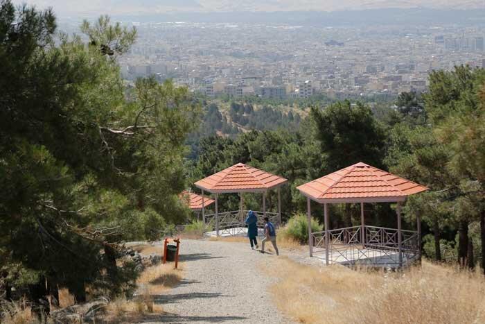 بوستانهای شرق پایتخت