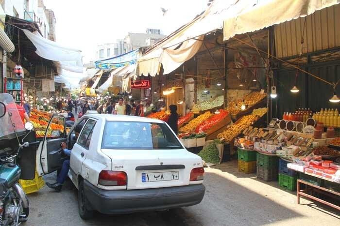 بازار میوه خیابان شهرستانی
