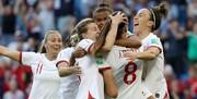 جام جهانی فوتبال زنان | انگلیس جواز حضور در المپیک را کسب کرد