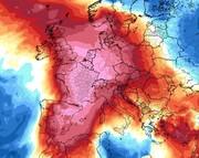 موج گرما در اروپا   از داغ ترین روز فرانسه تا مرگ ۲ نفر در اسپانیا