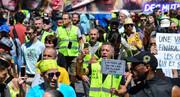 اعتراض جلیقهزردها در فرانسه | تظاهرات سی و سومین هفته آغاز شد