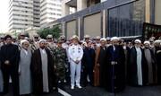 مراسم تشییع و خاکسپاری دو شهید گمنام دوران دفاع مقدس برگزار شد