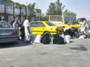 مسافرفروشی در مرز مهران