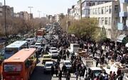 مسیر سخت طرح زوج و فرد در مرکز تبریز