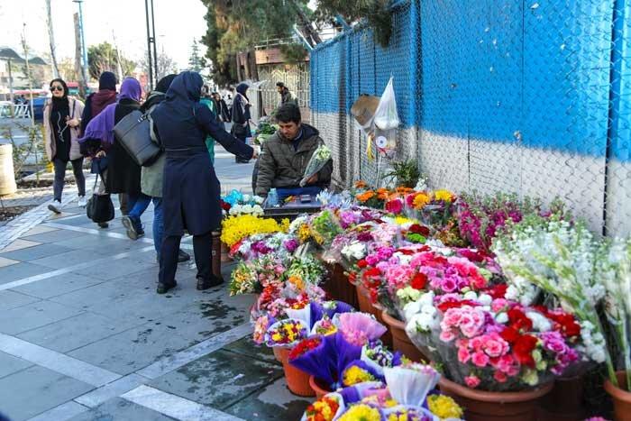 ساماندهی گلفروشان منطقه 2
