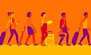 ۱.۴ میلیارد نفر - سفر |گردش مالی ۱.۷ تریلیون دلاری گردشگران در جهان
