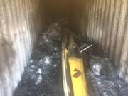 قایقهای هیات گناوه در آتش سوخت