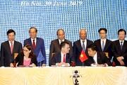 امضای پیمان تجارت آزاد اتحادیه اروپا با ویتنام
