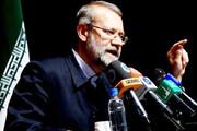 لاریجانی: آمریکاییها به دنبال صدمه زدن به وفاق ملت ایران و عراق هستند