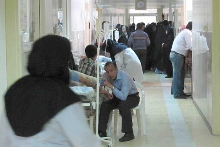 حال ناخوش بیمارستان فاطمی اردبیل
