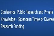 برگزاری کنفرانس تحقیقات عمومی و دانش خصوصی در آلمان