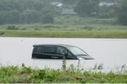 سیل ۹۳۴ هزار خانوار ژاپنی را در معرض خطر قرار داده است