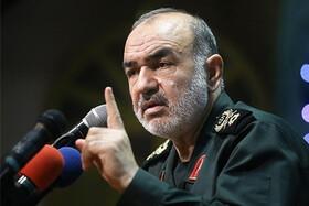 سرلشکر سلامی: سپاه جغرافیای مقاومت را گسترش خواهد داد
