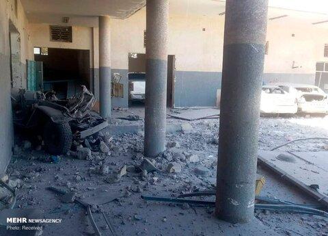 حمله هوایی به کمپ مهاجران در لیبی