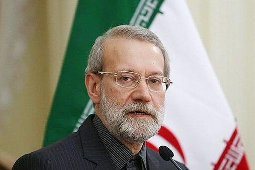 علی لاریجانی هوم پیج