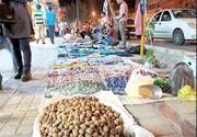 شبکاری دستفروشان در بازار تبریز