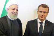 جزئیات مکالمه مکرون و روحانی در آستانه گام دوم تهران