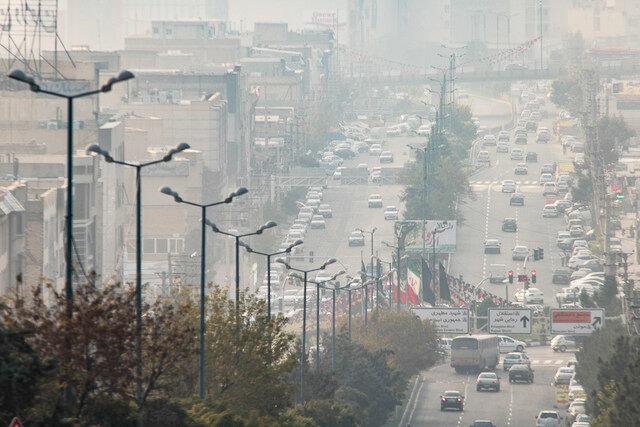 تهران آلودگي هوا