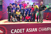 ایران قهرمان کشتی فرنگی نوجوانان آسیا شد